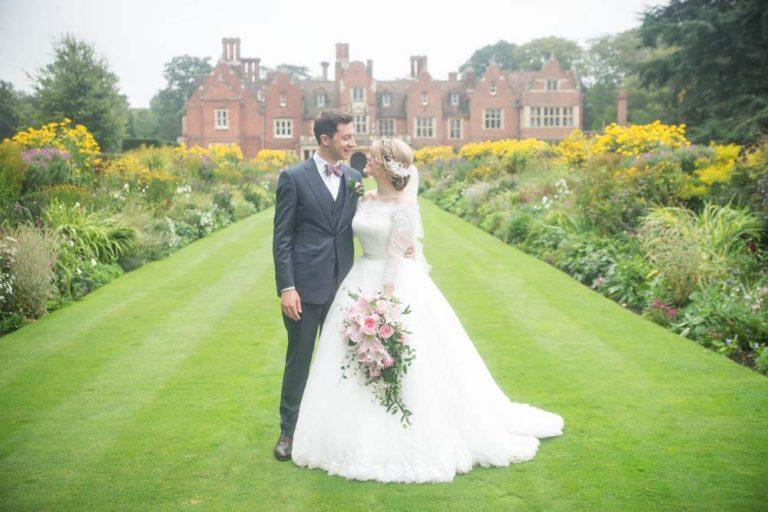 bride groom longstowe hall