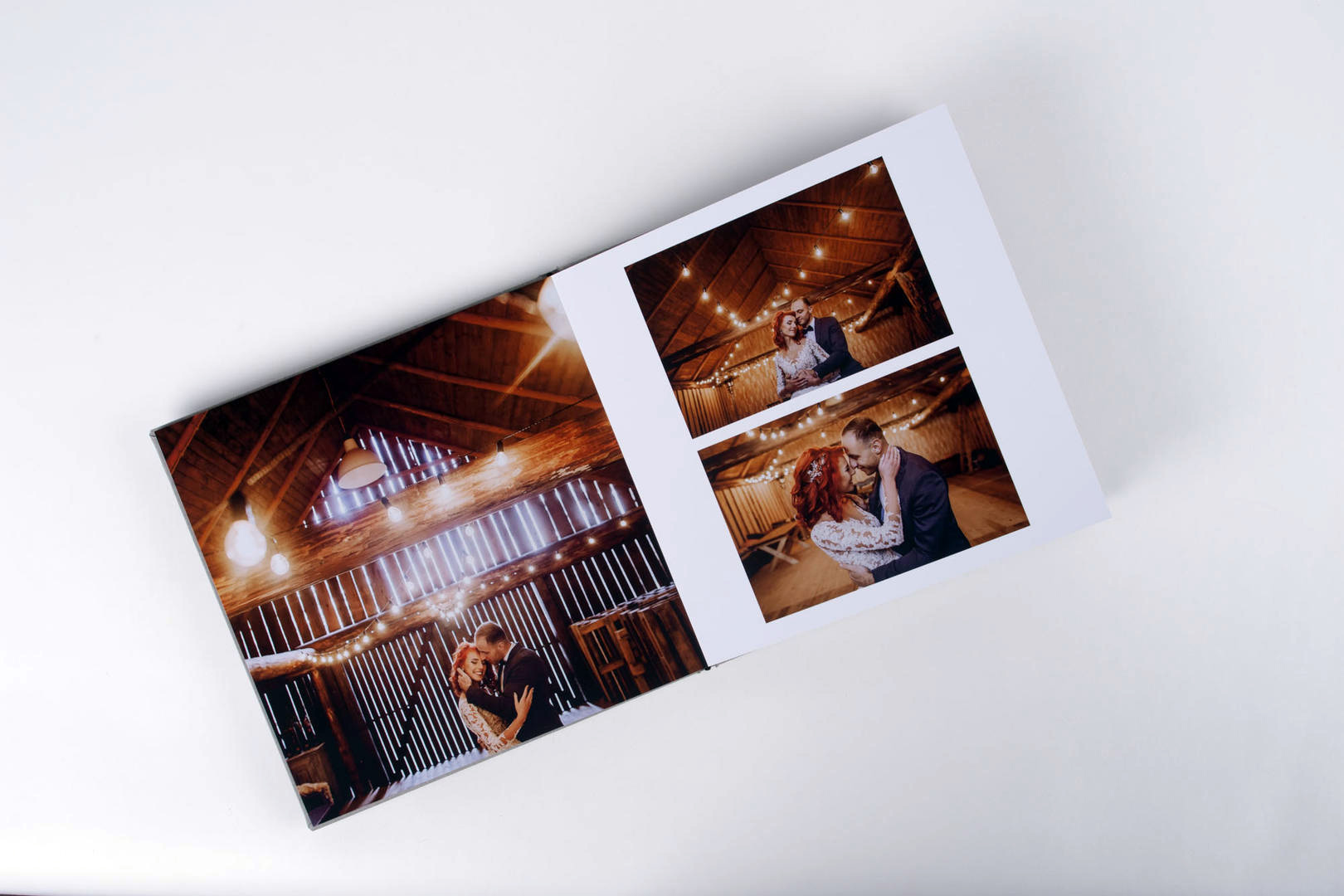 Photo Album layflat wedding photography professional printed product full page image