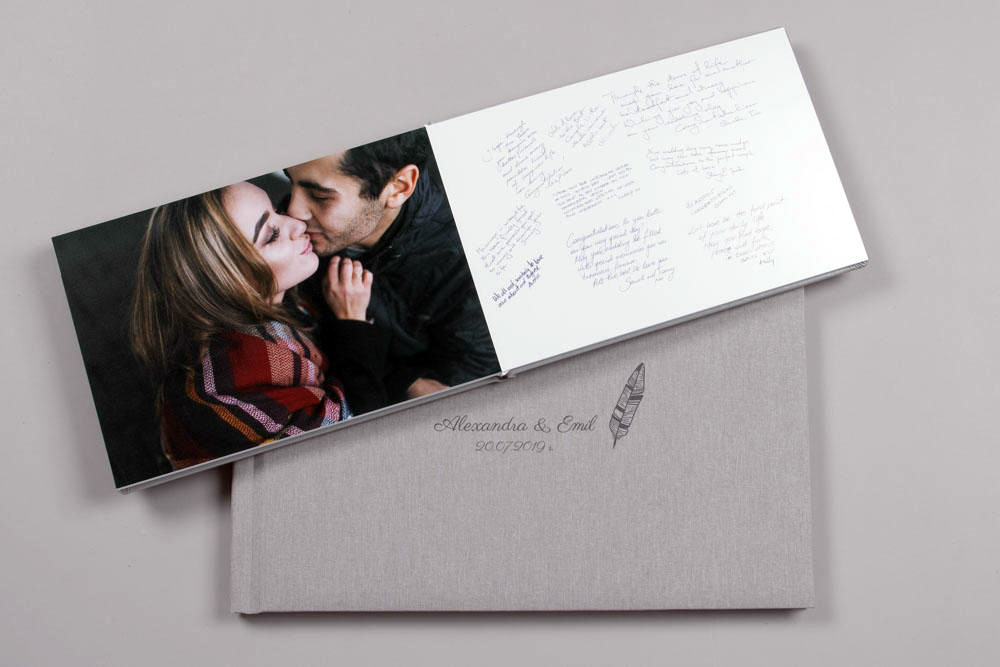 exclusive collection photo product grey professional photo lab photo albums and photo books personalise uvprint laser etch custom logo layflat album